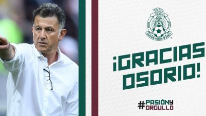 Juan Carlos Osorio no seguirá como entrenador de la Selección de México