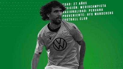 Juan Diego Gutiérrez espera por su debut en el fútbol boliviano con Oriente Petrolero
