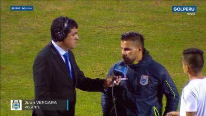 Juan Pablo Vergara y la buena noticia que dio tras su golazo con Binacional ante César Vallejo (VIDEO)