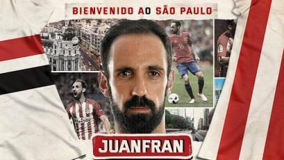 ¡OFICIAL! Sao Paulo anunció fichaje de Juanfran con video al estilo de 'La Casa de Papel'