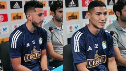 Liga1 Movistar 2020: Sporting Cristal presentó a Junior Huerto y Carlos Cabello en La Florida