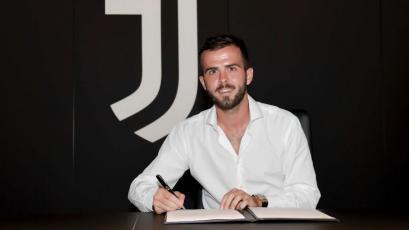 Miralem Pjanic renovó con la Juventus hasta el 2023