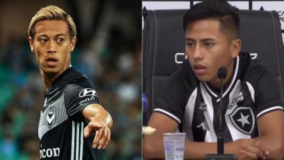 Botafogo fichó al mundialista Keisuke Honda y compartirá equipo con Alexander Lecaros (VIDEO)