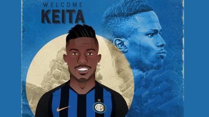 Keita Baldé es nuevo jugador del Inter de Milán