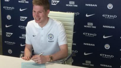 Kevin De Bruyne renueva con Manchester City hasta 2023