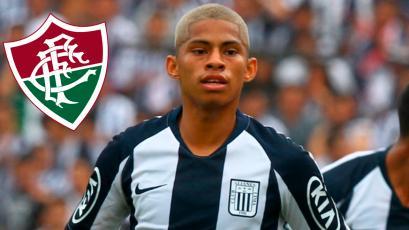 Kevin Quevedo podría pasar de Alianza Lima al famoso Fluminense de Brasil (VIDEO)