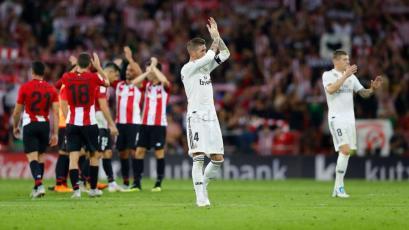 La Liga: Real Madrid tropieza con el Athletic y deja al Barcelona como único líder