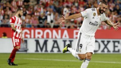 La Liga: Bale y Benzema rescatan la victoria para el Real Madrid
