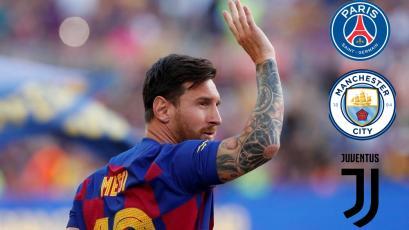 Lionel Messi deja el FC Barcelona: ¿Cuál será su próximo destino?