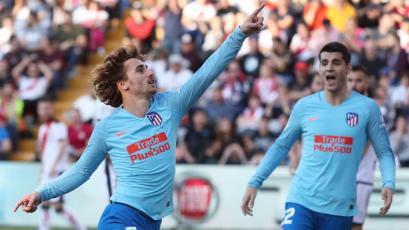 La Liga: Atlético de Madrid gana en Vallecas