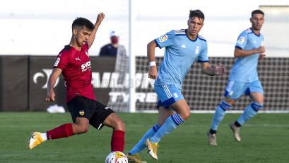 LaLiga: Alessandro Burlamaqui debutó con el primer equipo del Valencia