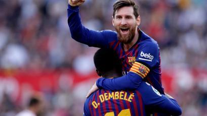 La Liga: Barcelona remonta de la mano de Lionel Messi