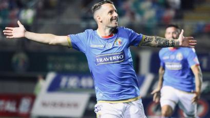 Pablo Lavandeira debutó en el fútbol chileno con un golazo para Audax Italiano (VIDEO)