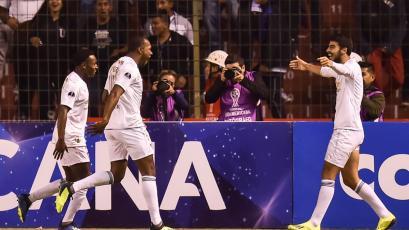 LDU de Quito se queda con el partido de ida ante Deportivo Cali (1-0)