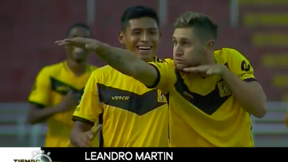 Leandro Martín anotó el mejor gol de la primera jornada