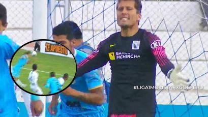 Binacional vs Alianza Lima: Leao Butrón y su gran enojo tras salvarse del primer gol (VIDEO)