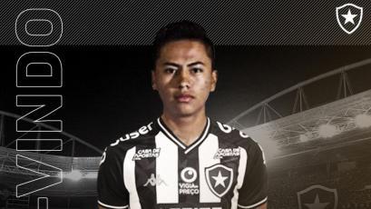 Alexander Lecaros ficha por el Botafogo y da el gran salto a Brasil