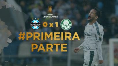 Copa Libertadores: Palmeiras y un golazo dan el primer golpe frente a Gremio (VIDEO)