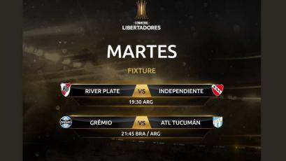 Copa Libertadores: hoy se conocerá a los primeros dos semifinalistas