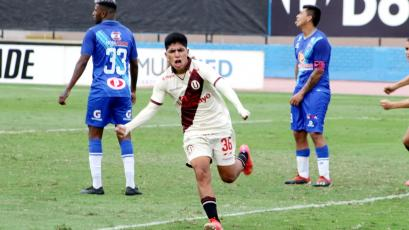 Universitario: Piero Quispe, el juvenil de 19 años que evitó la derrota en el debut (VIDEO)