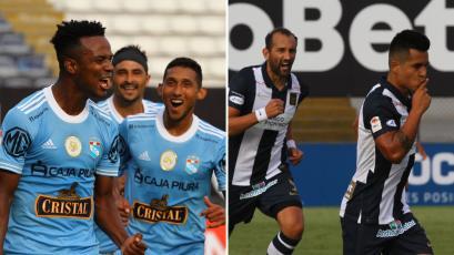 Sporting Cristal y Alianza Lima: así formarían esta tarde en el Estadio Nacional