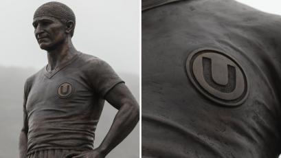 Universitario: todo lo que debes saber sobre la nueva estatua de 'Lolo' Fernández (FOTOS)