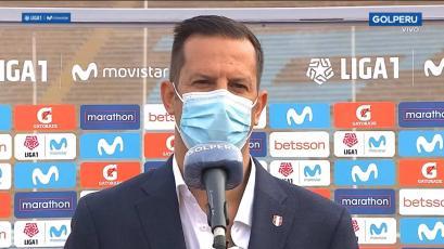 Liga1 Movistar: Víctor Villavicencio agradeció el compromiso de clubes y jugadores en la Fase 1