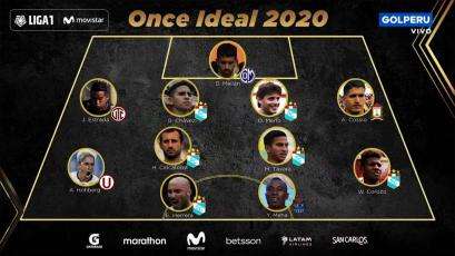 Liga1 Movistar: así quedó conformado el equipo ideal de la temporada 2020 (VIDEO)