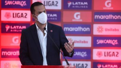 Víctor Villavicencio sobre la Liga2: