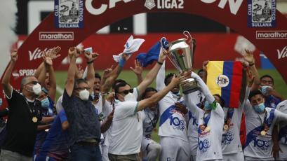 Liga2: así se repartieron los premios a lo mejor del 2020
