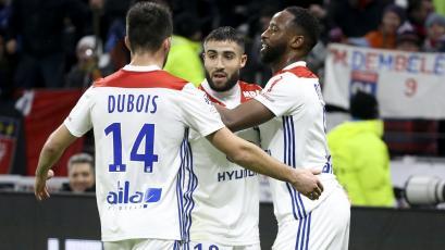 Ligue 1: Lyon le quita el invicto al PSG