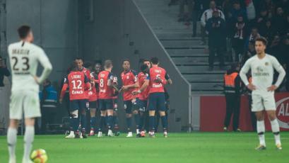 Ligue 1: PSG cae goleado a manos del Lille (5-1)