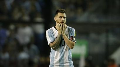 Lionel Messi no será titular ante Italia