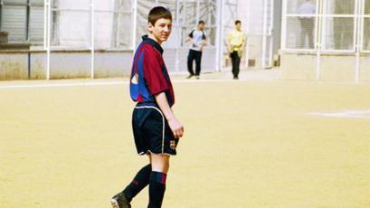 Lionel Messi: se cumplen 20 años de su llegada a Barcelona para pasar una prueba