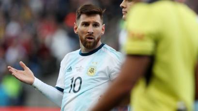 Lionel Messi recibió dura sanción de la Conmebol por acusaciones  de corrupción en la Copa América