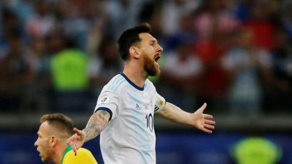 Lionel Messi se quejó del VAR en la Copa América y arremetió: