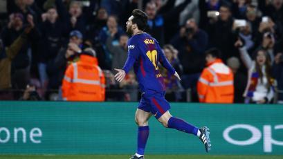 Lionel Messi cumplió 200 partido de liga en el Camp Nou