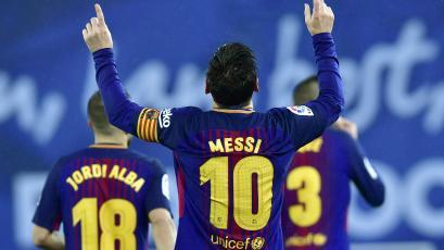Lionel Messi superó a Gerd Müller como goleador en una misma liga