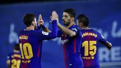 Lionel Messi y Luis Suárez llevan impresionante racha goleadora