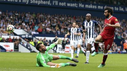 Liverpool dejó escapar el triunfo ante West Bromwich sobre el final (2-2)