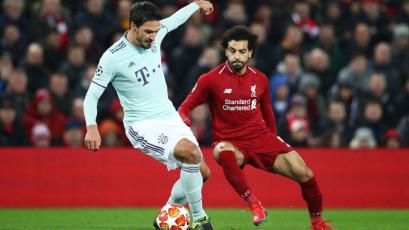 Champions League: Liverpool empató 0-0 con Bayern Múnich en Anfield (VIDEO)