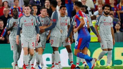Liverpool gana en su visita al Crystal Palace