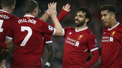 Champions League: Salah pone al Liverpool con un pie en la gran final