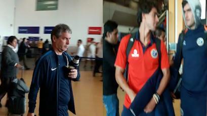 Alianza Lima y Deportivo Municipal arribaron a nuestra capital