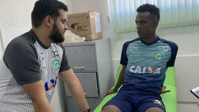 Nilson Loyola rindió los exámenes médicos en Goiás