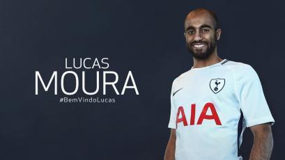 Lucas Moura es nuevo jugador del Tottenham