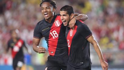 Revive el gol de Luis Abram con que Perú venció 1-0 a Brasil en Los Ángeles (VIDEO)