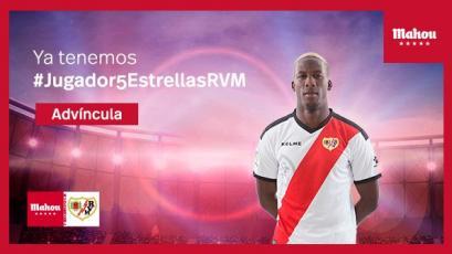 Luis Advíncula fue elegido mejor jugador de septiembre en el Rayo Vallecano