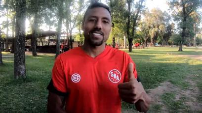 Luis Ramírez en sus primeros días con Sport Boys: