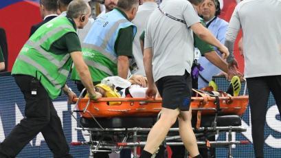 Luke Shaw sufre dura lesión ante España
